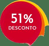 Desconto de 51% Plano Vitalicio